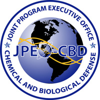 Joint Program Executive Office for Chemical and Biological Defense logo
